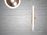 Підвісна LED люстра 6658/1+1-G, фото 3