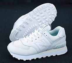 Женские кроссовки New Balance 574 White, фото 3
