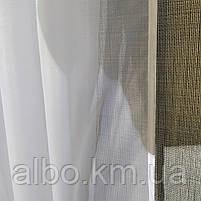 Тюль в спальню кімнату квартиру з турецького шифону, тюль шифон для залу спальні кухні однотонний турецький, стильний тюль для, фото 10