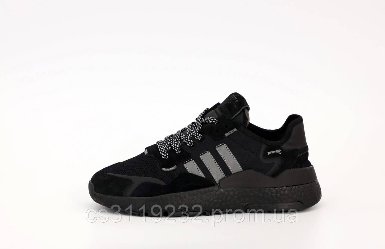 Чоловічі кросівки Adidas Nite Jogger (чорні)