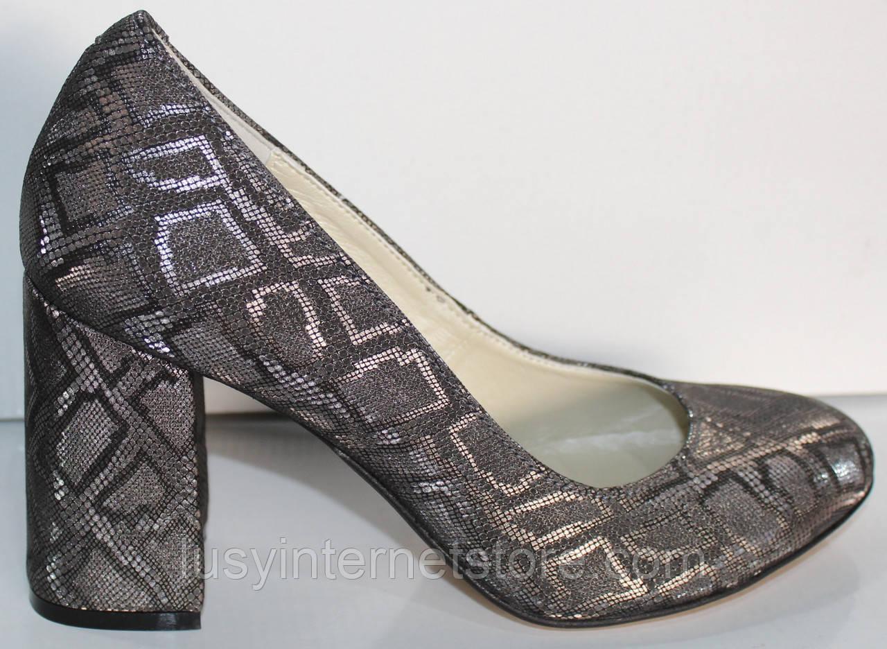 Туфли нарядные женские на каблуке от производителя модель КЛ9058-5