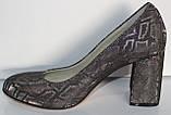 Туфли нарядные женские на каблуке от производителя модель КЛ9058-5, фото 3