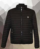 Куртка мужская стеганая большого размера, весна 2020 черная, 54