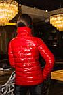 Стильная женская лаковая куртка 2020 - (кт-034), фото 3