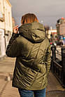 Женская воздушная ветровка с капюшоном весна 2020 - (кт-090), фото 2