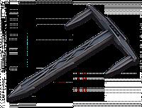 Шпилька (булавка-фиксатор) Тризубец 17/10см (100шт/упак) для агроволокна, агроткани