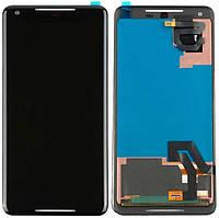 AMOLED Дисплей Google PIXEL 2 XL с сенсором, черный ORIG