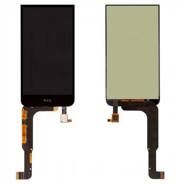 Дисплей HTC Desire 616 Dual Sim с сенсором, черный