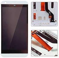 ✅Дисплей HTC Desire 626G Dual Sim с сенсором и передней панелью белого цвета, черный