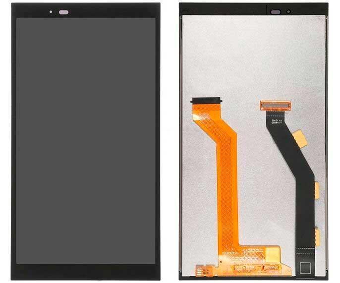 Дисплей HTC One E9 Plus (A55) с сенсором, черный