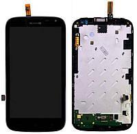✅Дисплей Huawei Ascend G610-U20 с сенсором и передней панелью, черный
