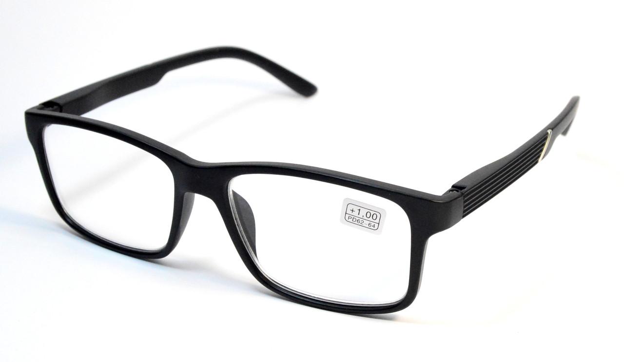 Черные очки для зрения оптом (МС 323 мат)