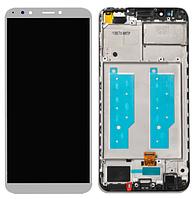 """✅Дисплей Huawei Honor 7C Pro 5.99"""" (LND-L29) с сенсором и передней панелью белого цвета, золотистый"""