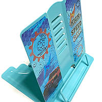 Подставка для книг металлическая для мальчика Джипы 13405