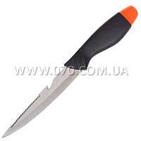 Нож фиксированный с пластиковым чехлом (длина: 26.5см, лезвие: 13.0см)