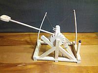 Стреляющая катапульта детская деревянная из экологически чистых материалов! Игрушки из дерева для детей!