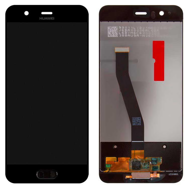 Дисплей Huawei P10 (VTR-L09 / VTR-L29) с сенсором, черный
