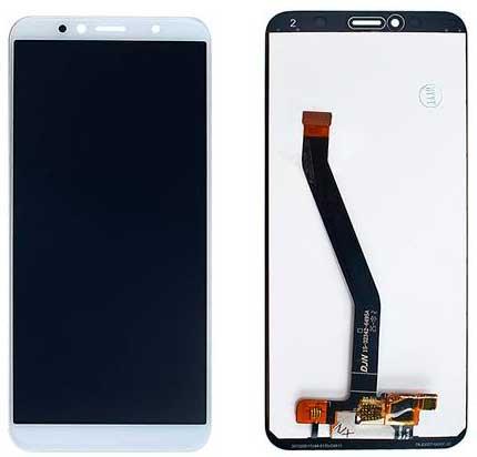 Дисплей Huawei Y6 2018 / Y6 Prime 2018 / Honor 7A Pro (ATU-L21 / AUM-L29 / ATU-L31) с сенсором, белый