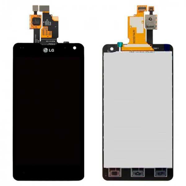 Дисплей LG E971 Optimus G / E973 / E975 / E976 / E977 / E987 / F180 / LS970 с сенсором, черный