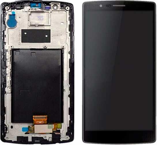 Дисплей LG H540 G4 Stylus Dual Sim / H542 / H631 / H635 / LS770 с сенсором и передней панелью, черный