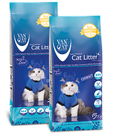 Van Cat (ВанКэт) - комкующийся наполнитель для кошачьего туалета 20кг