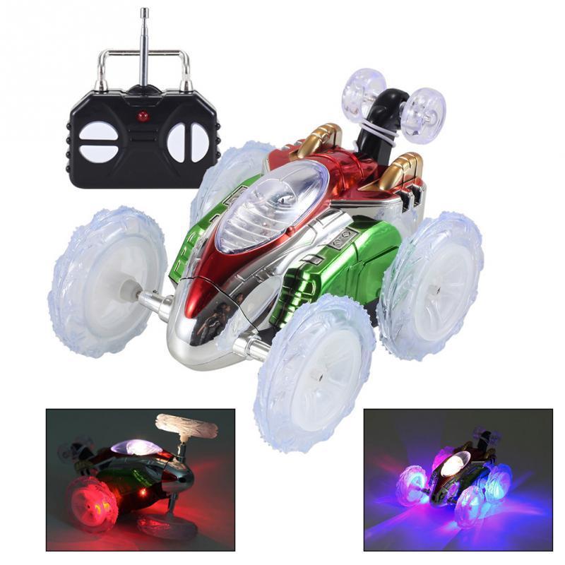 Интерактивная машинка на радиоуправлении Dasher. Светится, передние колеса поварачиваются на 360°. 15*10*8,5см