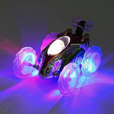 Интерактивная машинка на радиоуправлении Dasher. Светится, передние колеса поварачиваются на 360°. 15*10*8,5см, фото 2