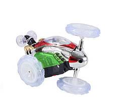 Интерактивная машинка на радиоуправлении Dasher. Светится, передние колеса поварачиваются на 360°. 15*10*8,5см, фото 3