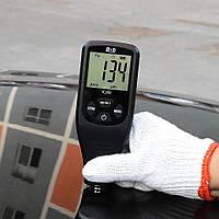 ТОЛЩИНОМЕР R&D TC200 full black 0-1500 микрон Fe & NFe автоматический тестор краски автомобильный