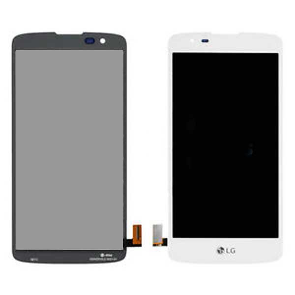 Дисплей LG K350E K8 (2016) / K350N / Phoenix 2 с сенсором, белый