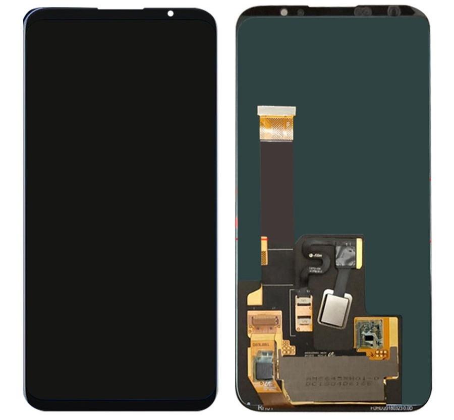 Дисплей Meizu 16 Plus с сенсором, черный (Amoled)
