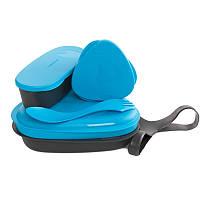 Набор посуды LIGHT MY FIRE LunchKit (6 предметов), голубой