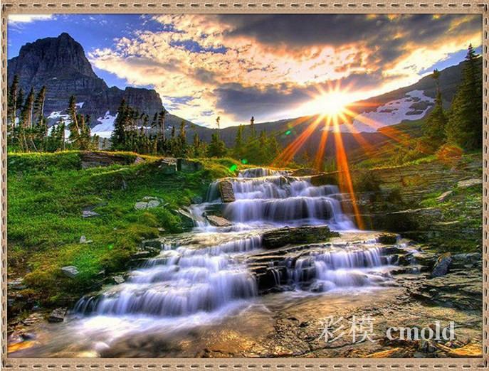 Алмазная вышивка фото природа