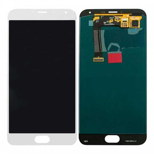 Дисплей Meizu MX5 (M575) / MX5e / MX5e Lite с сенсором, белый
