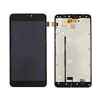 ✅Дисплей Microsoft (Nokia) Lumia 640 XL Dual Sim (RM-1062 / RM-1065 / RM-1066 / RM-1067) с сенсором и передней панелью, черный