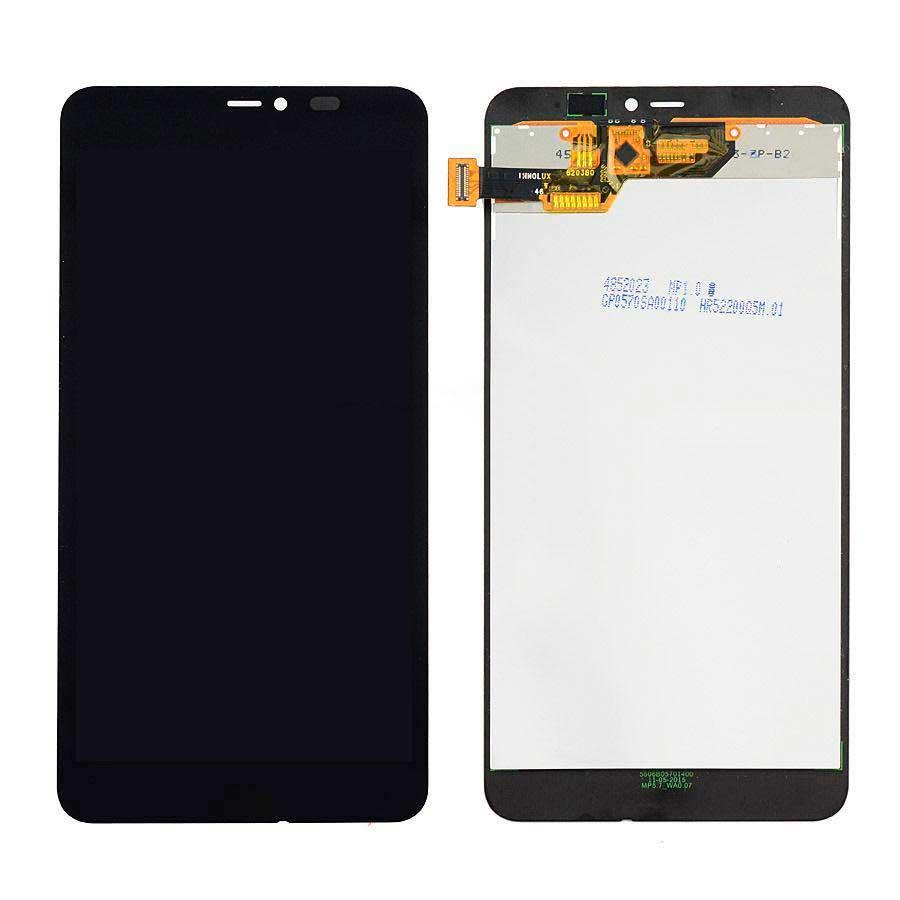 Дисплей Microsoft (Nokia) Lumia 640 XL Dual Sim (RM-1062 / RM-1065 / RM-1066 / RM-1067) с сенсором, черный