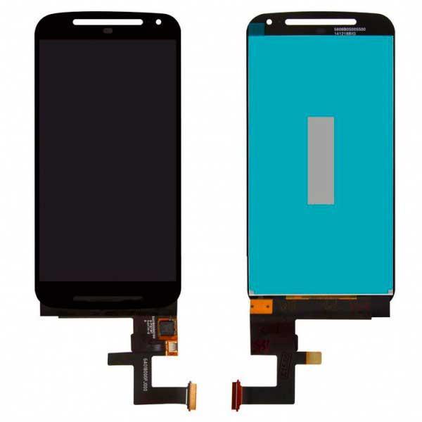Дисплей Motorola XT1063 Moto G(2nd Gen) / XT1064 / XT1068 / XT1062 с сенсором, черный