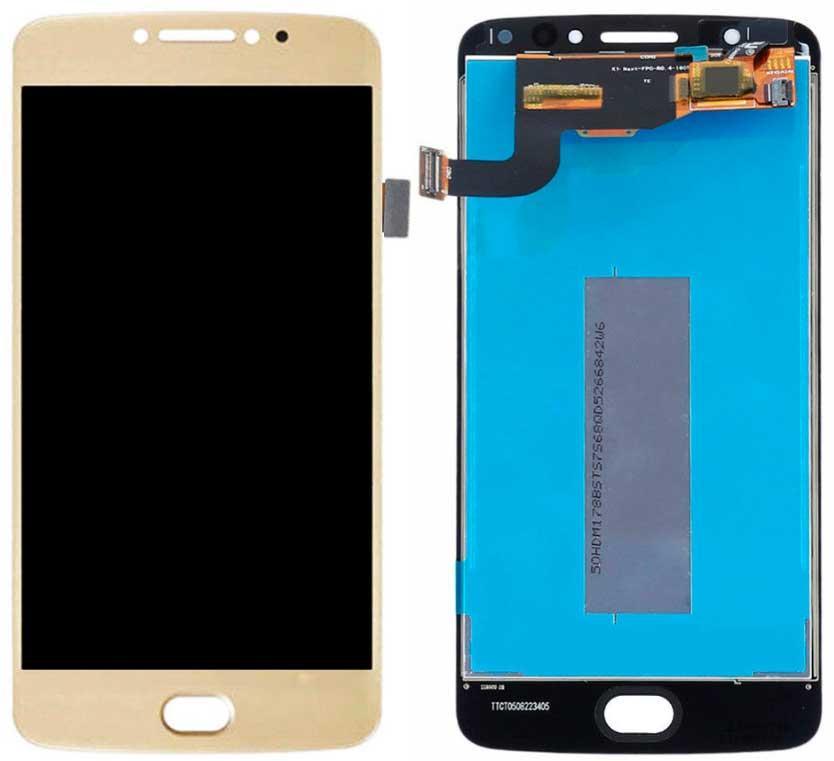 Дисплей Motorola XT1762 Moto E4 / XT1761 / XT1766 с сенсором, золотистый
