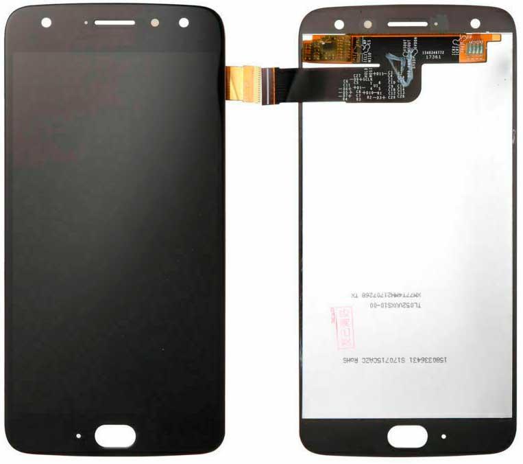 Дисплей Motorola XT1900-7 Moto X4 с сенсором, черный