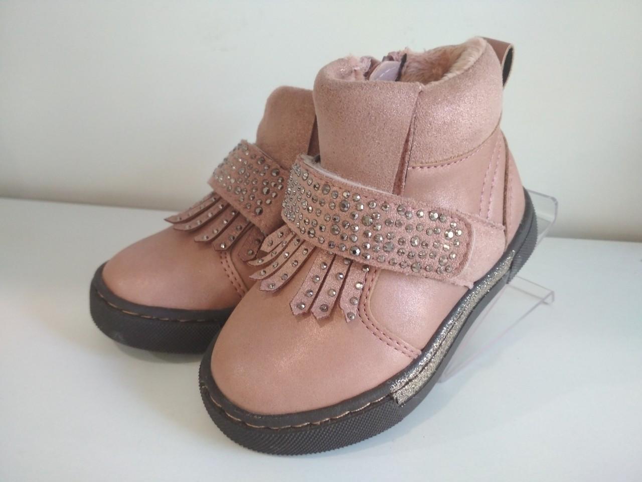 Ботинки демисезонные для девочки Розовые Bi&Ki р. 21-26