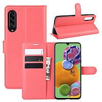 Чохол-книжка Litchie Wallet для Samsung Galaxy A90 5G Red