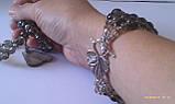 Комплект из раухтопаза : бусы, браслет, фото 7