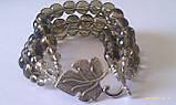 Комплект из раухтопаза : бусы, браслет, фото 6