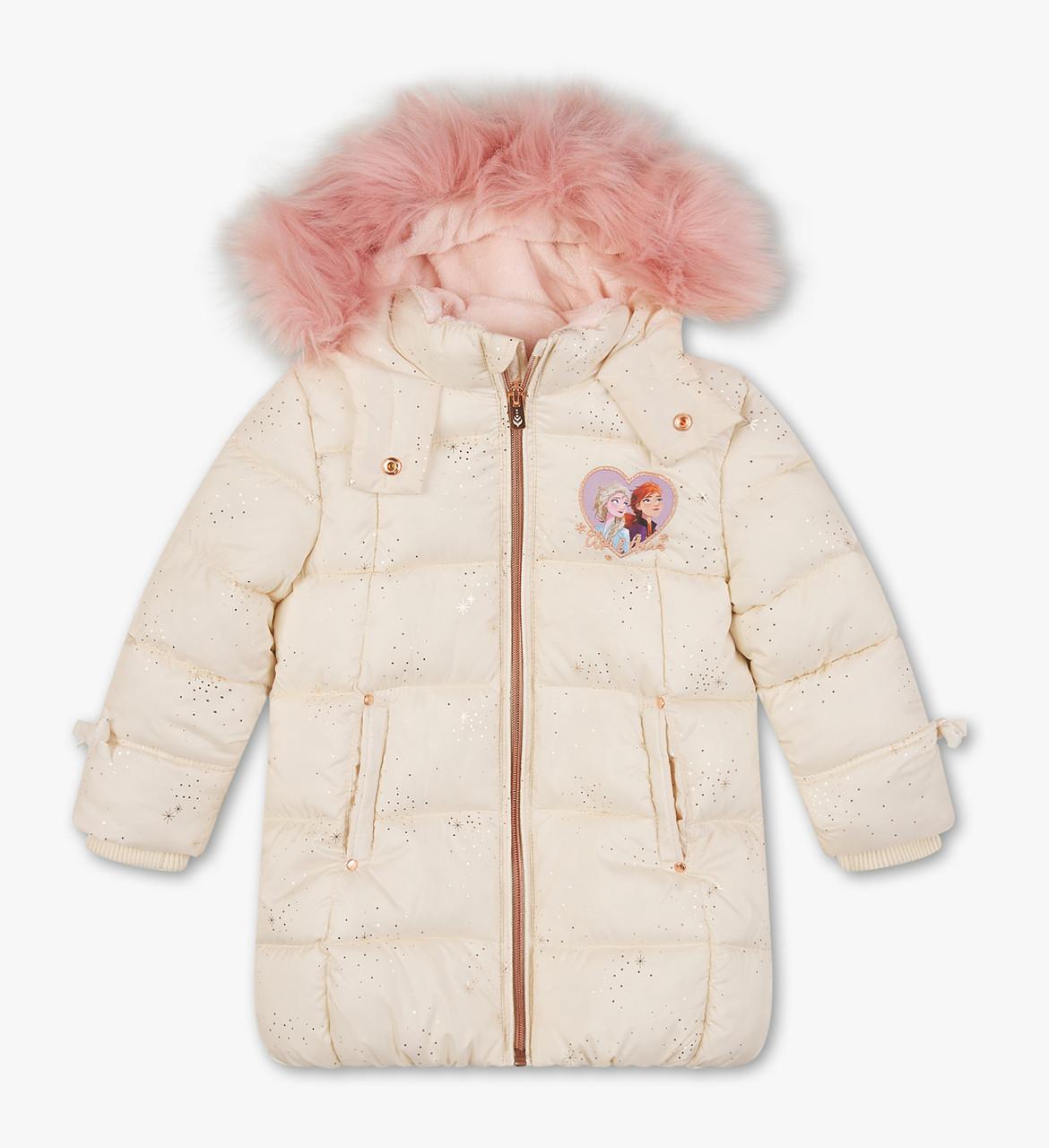 Детская зимняя куртка с опушкой на девочку C&A Германия Размер 92, 98, 104