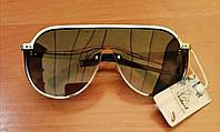 Модные женские солнцезащитные очки 2020 цвет синий, фото 1