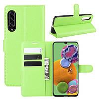 Чохол-книжка Litchie Wallet для Samsung Galaxy A90 5G Green