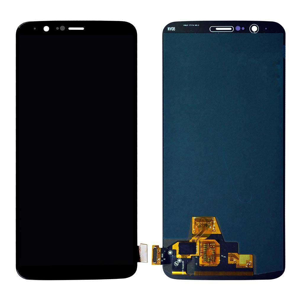 Дисплей OnePlus 5T с сенсором, черный (Amoled)
