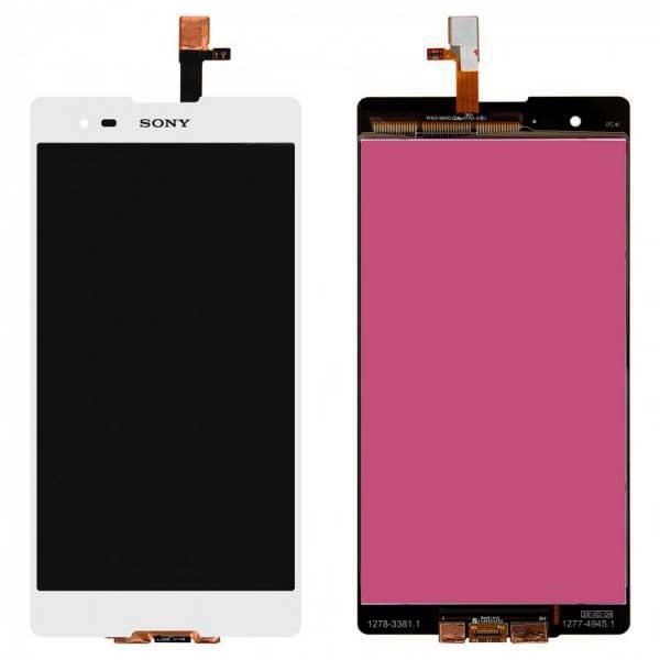 Дисплей Sony D5303 Xperia T2 Ultra / D5306 / D5322 с сенсором, белый