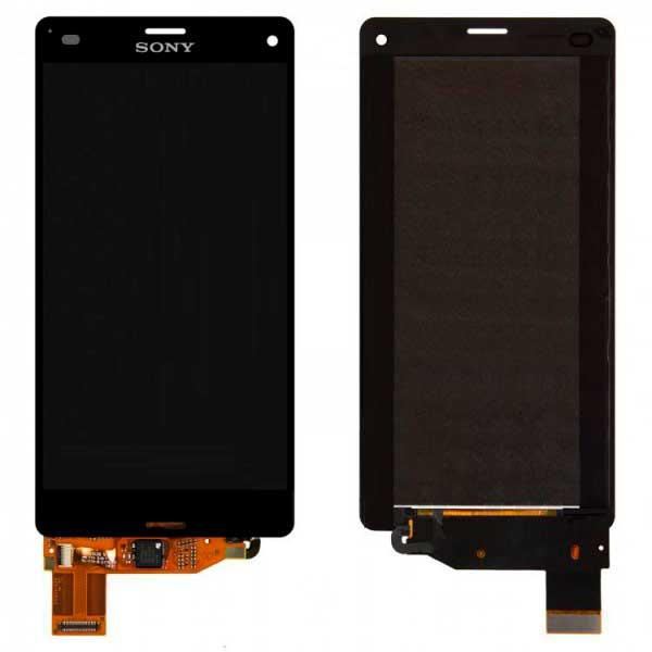 Дисплей Sony D5803 Xperia Z3 Compact / D5833 с сенсором, черный
