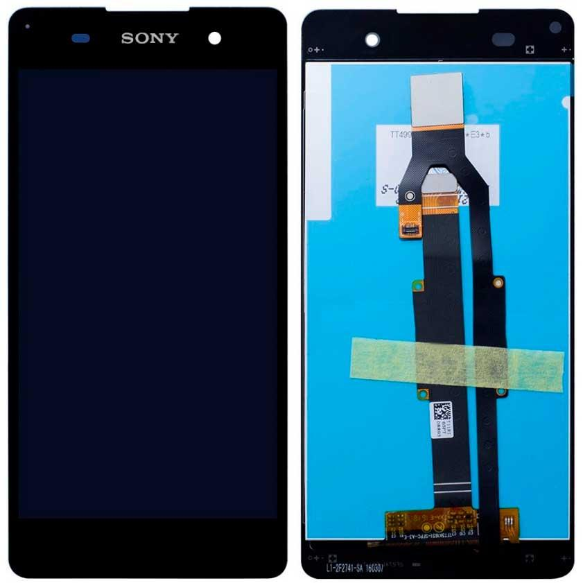 Дисплей Sony F3311 Xperia E5 / F3313 с сенсором, черный